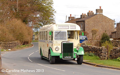 Cumbria Classic Coaches LFM302, Appersett, 14th May 2013