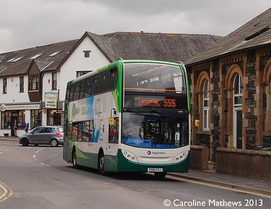 Stagecoach 15728 (PX61CVJ), Keswick, 31st August 2013