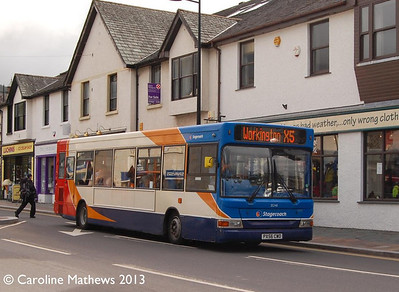 Stagecoach 35248 (PX56CWO), Keswick, 31st August 2013