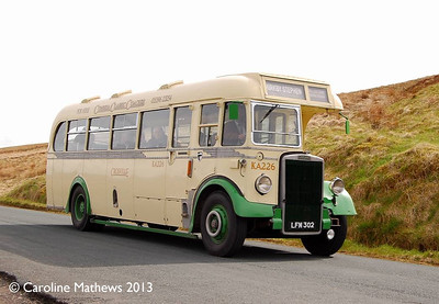 Cumbria Classic Coaches LFM302, Ais Gill, 14th May 2013