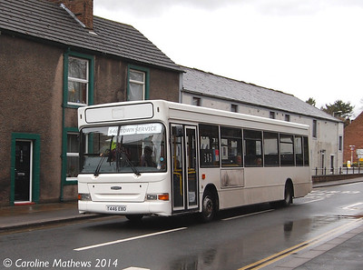 NBM T446EBD, Penrith, 28th March 2014