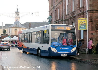 Stagecoach 27142 (SN64OGF), Brampton, 20th December 2014