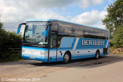 Dewhirst YJ08DLD, Warcop Station, 18th August 2014