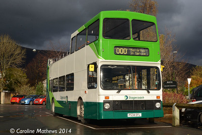 Stagecoach 16534 (P534EFL), Keswick, 1st November 2014