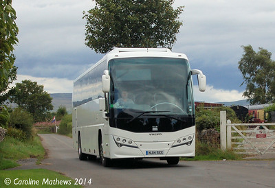 NJ14SXX, Warcop Station, 18th August 2014