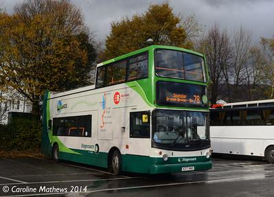 Stagecoach 17277 (X277NNO), Keswick, 1st November 2014