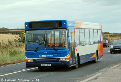 Stagecoach 34716 (PX05EKK), A6, 18th August 2014