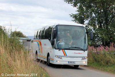 Travellers Choice 6682WY, Warcop Station, 18th August 2014