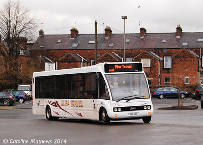Alba Travel YJ59GHY, 28th March 2014