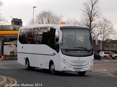 H & S Coach Hire B12HNS, Penrith, 9th March 2014