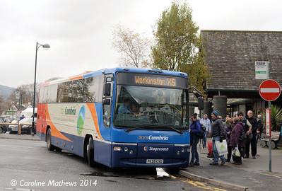 Stagecoach 53338 (PX59CVD), Keswick, 1st November 2014