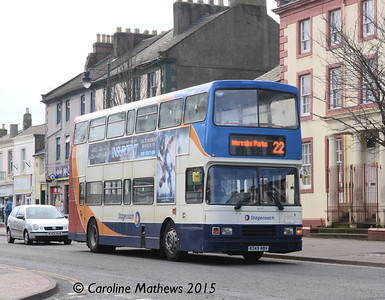 Stagecoach 16649 (R249NBV), Egremont, 13th March 2015