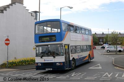 Stagecoach 16650 (R250NBV), Penrith, 25th April 2015