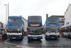 Stagecoach 16118 (R118KNO), 17198 (V198MEV) and 16657 (R257NBV), Workington 19th December 2015