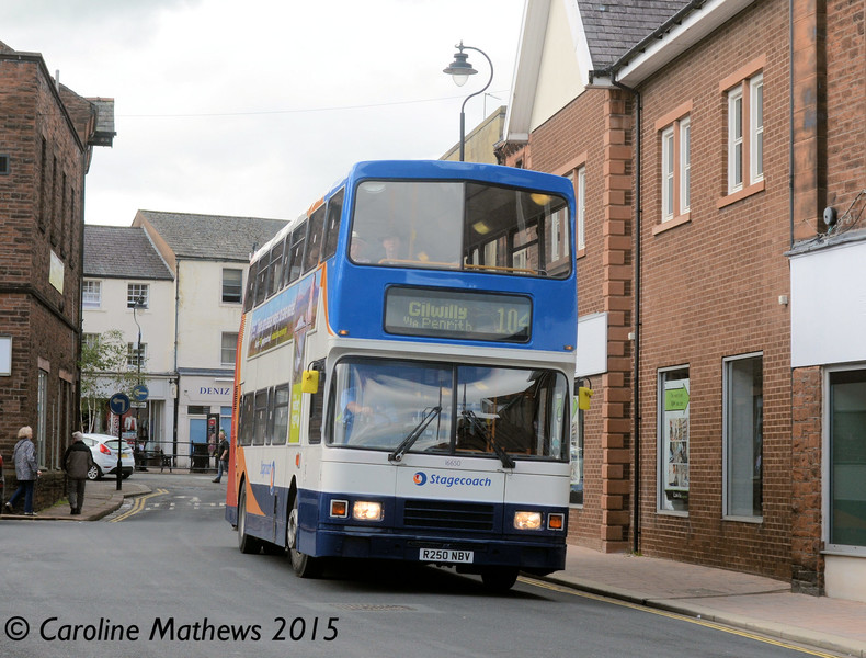 Stagecoach 16650 (R250NBV), Penrith, 28th August 2015