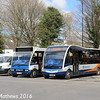 Stagecoach 47474 (PX07GZZ) and 48001 (YJ15AMV), Keswick, 16th April 2016