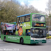 Stagecoach 17013 (S813BWC), Windermere Station, 16th April 2016