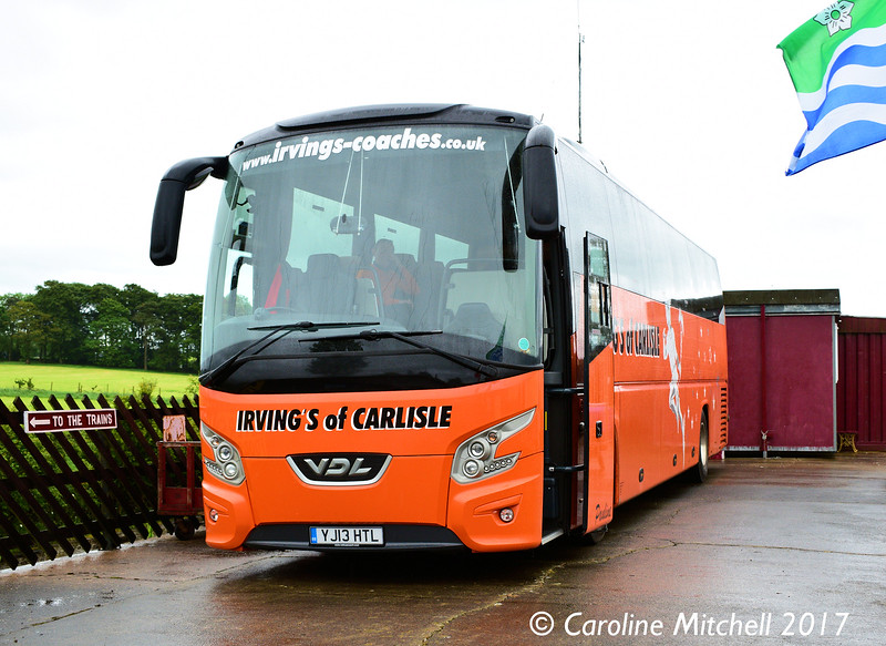 Irvings of Carlisle YJ13HTL, Warcop Station, 8th June 2017