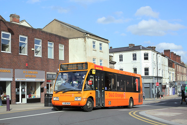 115 YJ56WUW, Stoke-on-Trent 2/5/2018