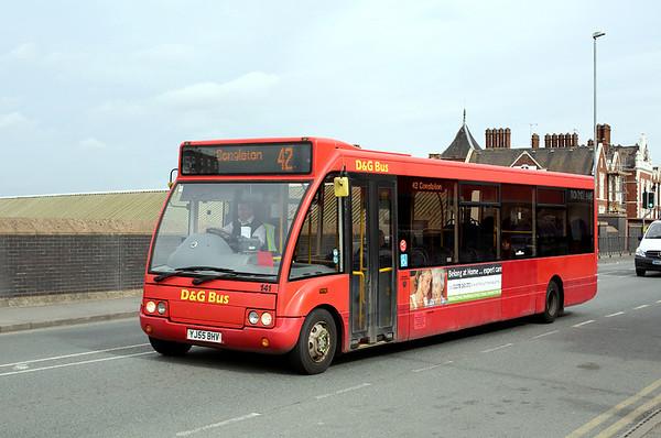 141 YJ55BHV, Crewe 20/3/2014