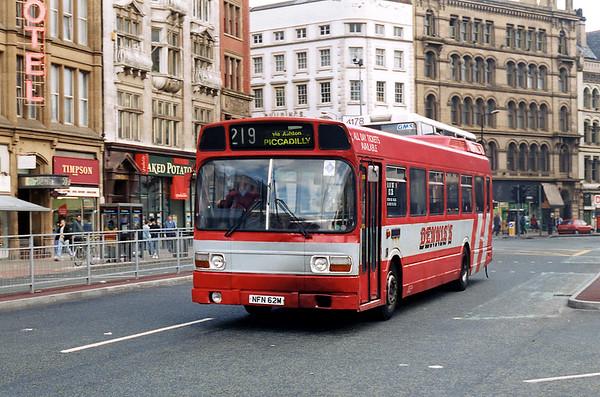 NFN62M, Manchester 9/5/1996