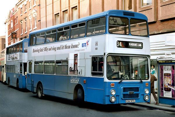 152 E152BTO, Derby 3/3/1992