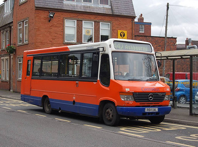 Centrebus 440 (R164UAL), Ashbourne, 10th September 2012