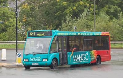 trentbarton 448 (FE02KDU), Matlock, 12th September 2012