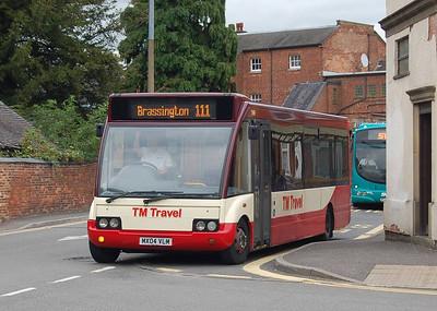TM Travel 1169 (MX04VLM), Ashbourne, 10th September 2012