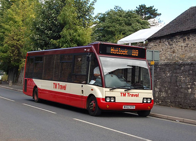 TM Travel 422 (W422RTO), Wirksworth, 11th September 2012