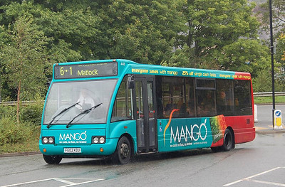 trentbarton 448 (FE02KDU), Matlock, 12th September 2012