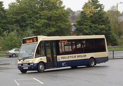 Hulleys 10 (MX56ACF),  Matlock, 12th September 2012