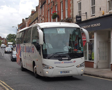 Littles E2 (YT10WLG), Ashbourne, 10th September 2012