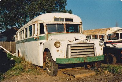 GMC/SYD WOOD (Ex Offner, Wellington, Ex Bus Lines of Aust.)  – Photo Location: Drummond Transit Co. Depot Greenacre. (Details Courtesy of Ron Drummond)