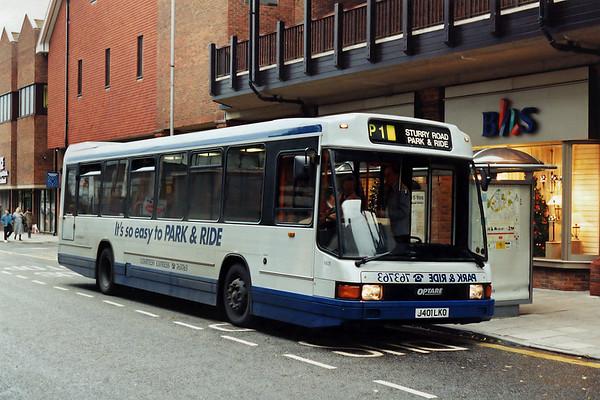 1401 J401LKO, Canterbury 10/11/1993