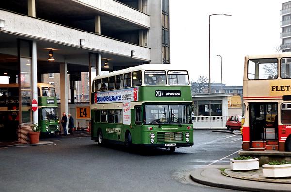 178 BAU178T, Doncaster 19/2/1992