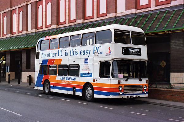220 KKY220W, Mansfield 20/2/1993