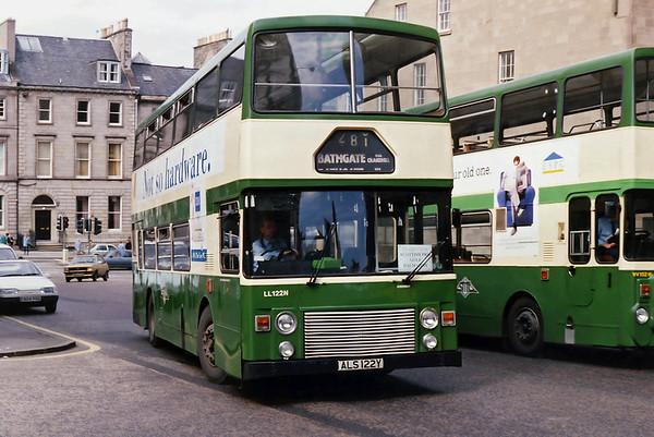 LL122 ALS122Y, Edinburgh 22/5/1993