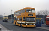 A second view of 42 (JGF 314K), a 1972 Daimler Fleetline/Park Royal H44/26F in service at Lichfield.