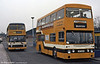42 (JGF 314K), was formerly London Transport DMS314 and is seen here at Lichfield Bus Station in February 1984.