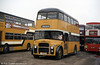 Leyland PD2A/Northern Counties H37/27F 29 (PCW 946) in use as a training vehicle in February 1984. The bus was new to Burnley, Colne & Nelson as their 246 in 1964.