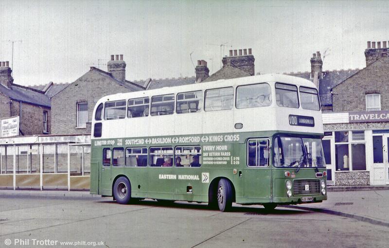 Eastern National 3070 (KOO 788V), a Bristol VRT/ECW H39/31F used on service 400 Southend to Kings Cross.