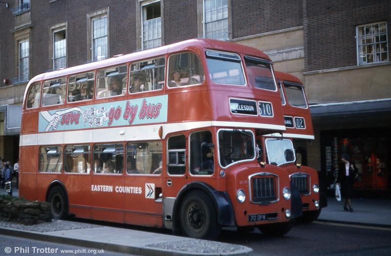 LFS70 (70 DPW) was another Bristol FS5G/ECW H33/27RD, built in 1963.
