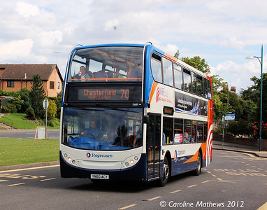 Stagecoach 15689 (UN60ACY), Eckington, 2nd August 2012