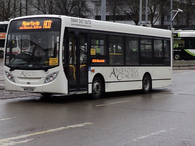 ABERFOYLE COACHES ENVIRO 200 DART SEEN IN BUCHANAN BUS STATION GLASGOW