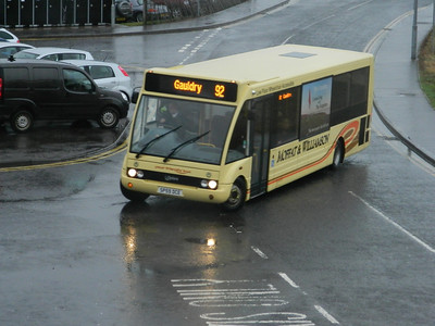 Moffat and Williamson Optare Solo at Leuchars station