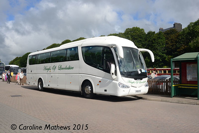 Hough's YN06NYS, Banks Circus, Douglas, 22nd June 2015