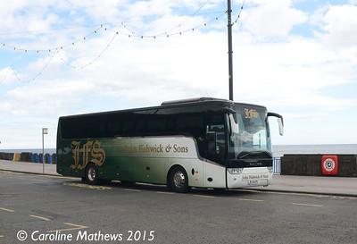 John Fishwick & Sons YJ124CFL, Derby Castle, 21st June 2015