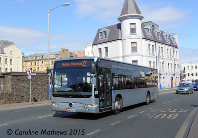 Bus Vannin 220 (KMN-220-U), Douglas, 22nd June 2015