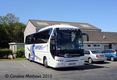Simpson's SM12SON, Port Erin, 22nd June 2015